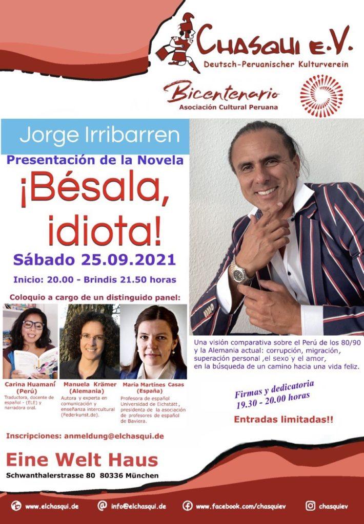 Event Buchvorstellung des peruanischen Autors